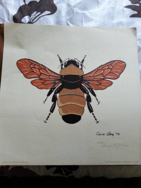 Lithograph Prints $20 each They have several prints available - my favorites are the bee, grasshopper and lady bug - they would be adorable in a kid's room or playroom. View on Craigslist