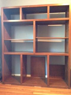 Bookshelves $125 View on Craigslist