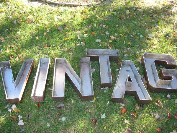 """VINTAGE"" Letters $90 View on Craigslist"