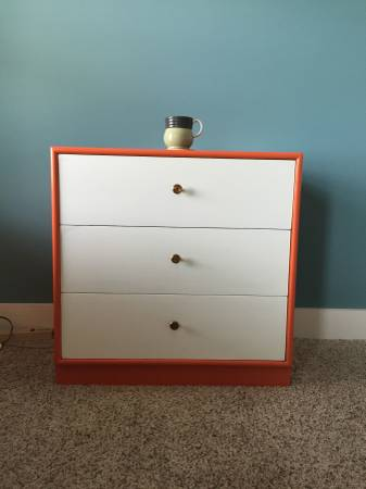 Painted Chest/Nighstand     $40     View on Craigslist