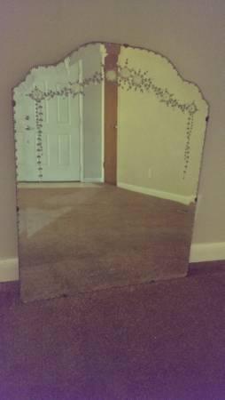Antique Mirror     $45     View on Craigslist