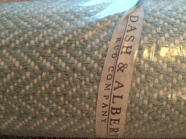 New Dash & Albert Rug     $200   This retails for $278 and is 6' x 9'.    View on Craigslist