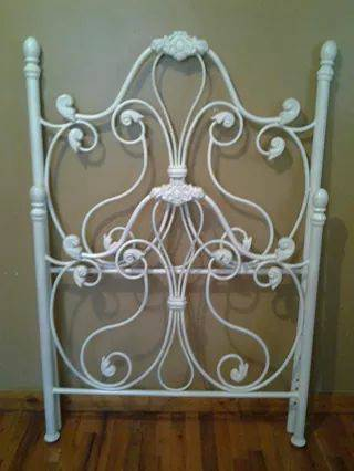 Iron Twin Bed     $30     View on Craigslist