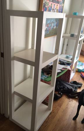 Pair of West Elm Bookcases     $300     View on Craigslist