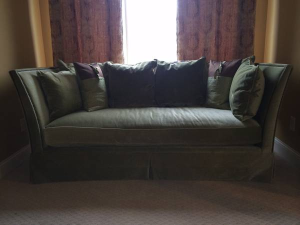 Z Gallerie Sofa     $500     View on Craigslist