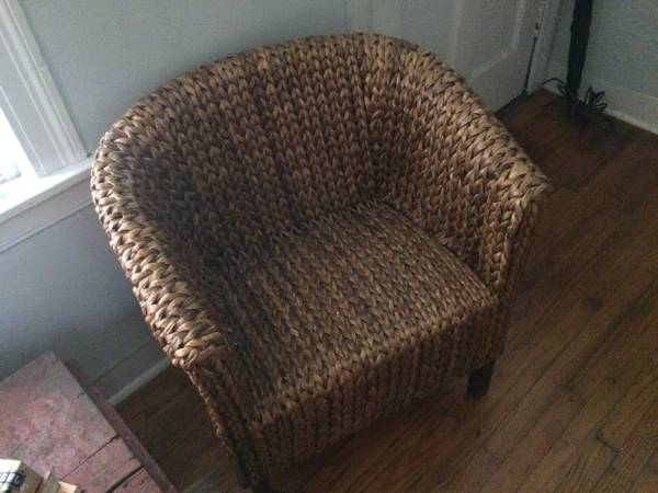 Pair of Woven Chairs     $150     View on Craigslist
