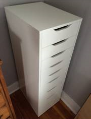 IKEA 9 Drawer Cabinet     $100     View on Craigslist