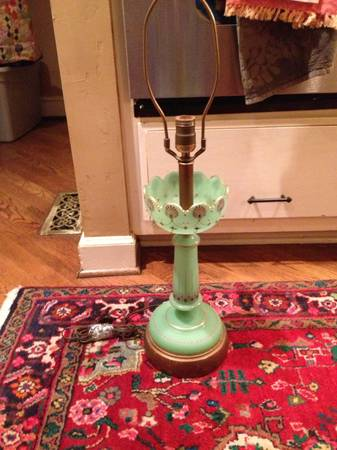 Antique Handpainted Lamp     $30     View on Craigslist