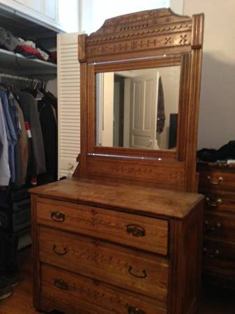 Wood Dresser     $120     View on Craigslist
