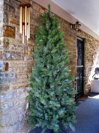 7ft Slimline Tree     $20     View on Craigslist
