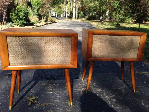 Pair of Mid Century End Tables $375 View on Craigslist