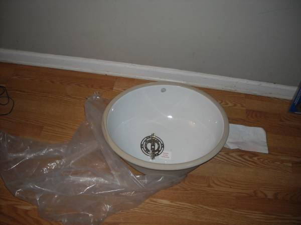 New Ceramic Basin Sink     $20     View on Craigslist