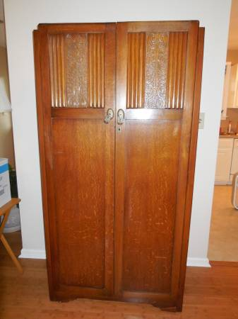 Antique Wardrobe     $200     View on Craigslist