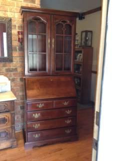 Cherry Secretary Desk     $75     View on Craigslist