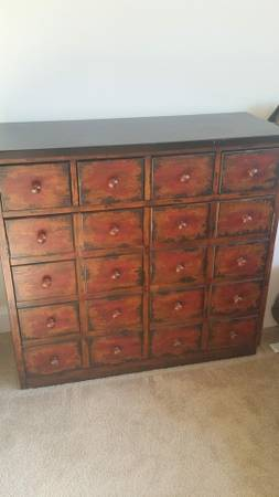 Pottery Barn Andover Cabinet     $300   Retails at Pottery Barn for $799.    View on Craigslist