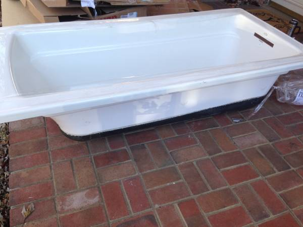 New Kohler Drop In Tub $125 This is a really good deal, this tub retails for over $500. View on Craigslist
