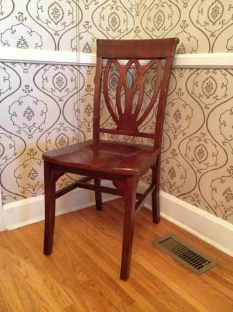 Set of 4 Chairs $40 each View on Craigslist