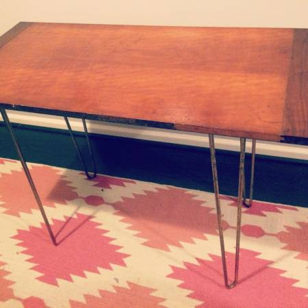 Mid Century Table $65 View on Craigslist