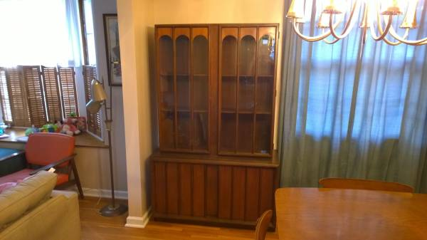 Mid Century China Cabinet $300 View on Craigslist