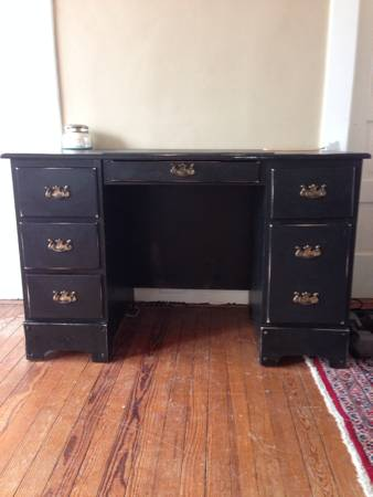 Black Desk $50 View on Craigslist