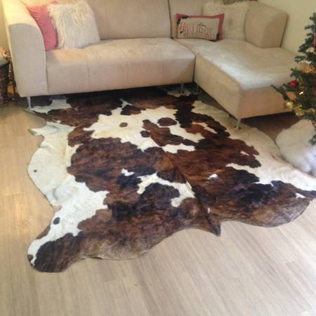Cowhide Rug     $180     View on Craigslist