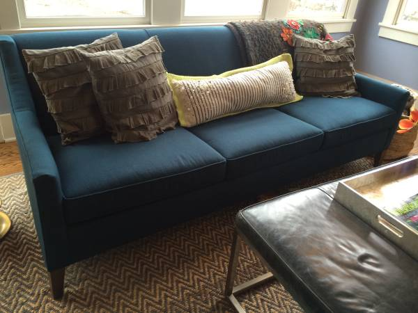 Mitchell Gold Sofa     $1250   This was purchased a year ago for $2245.    View on Craigslist
