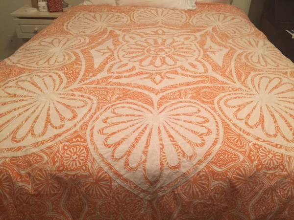 Anthropologie King Duvet     $50     View on Craigslist