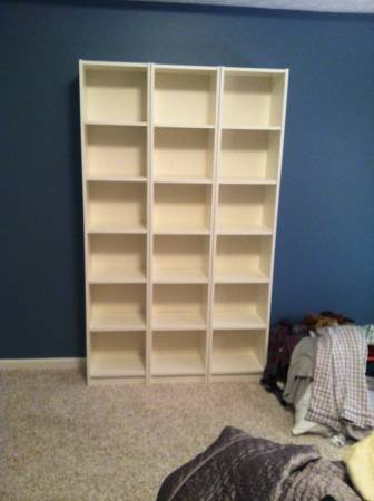 IKEA Bookshelves     $40     View on Craigslist