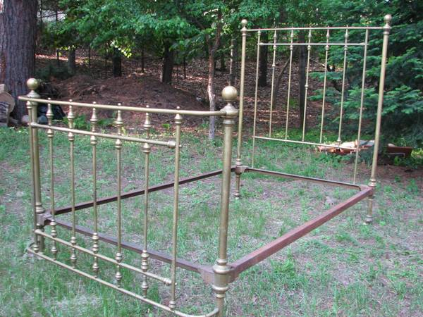 Vintage Brass Bed $495 View on Craigslist