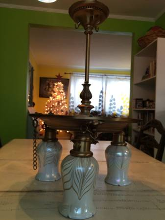 Vintage Light Fixture $100 View on Craigslist