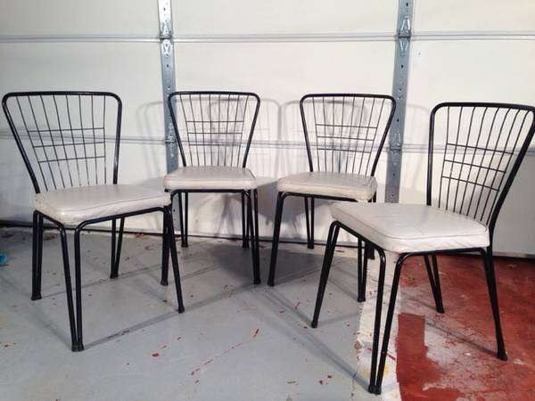 Mid Century Wire Chairs     $150     View on Craigslist