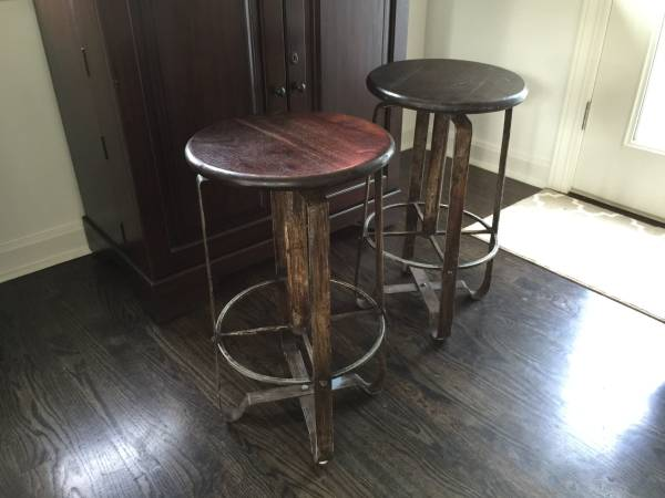 Pair of Barstools     $175     View on Craigslist