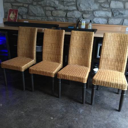Set of 4 Dining Chairs     $180     View on Craigslist