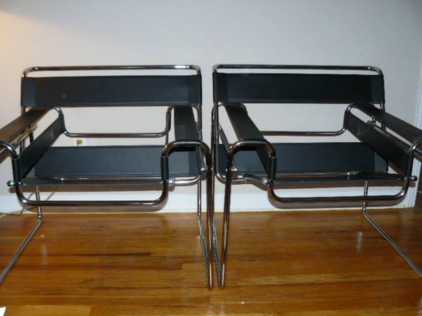 Pair of Wassily Chairs     $600     View on Craigslist