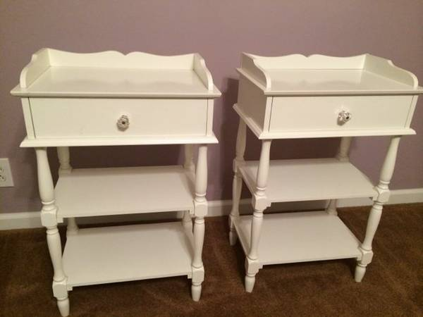 Pair of Nightstands     $40     View on Craigslist