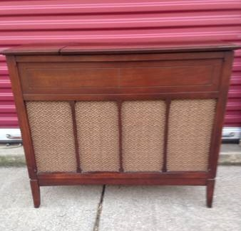 Mid Century Radio Cabinet     $150   This would be great repurposed as a buffet or entertainment center.    View on Craigslist