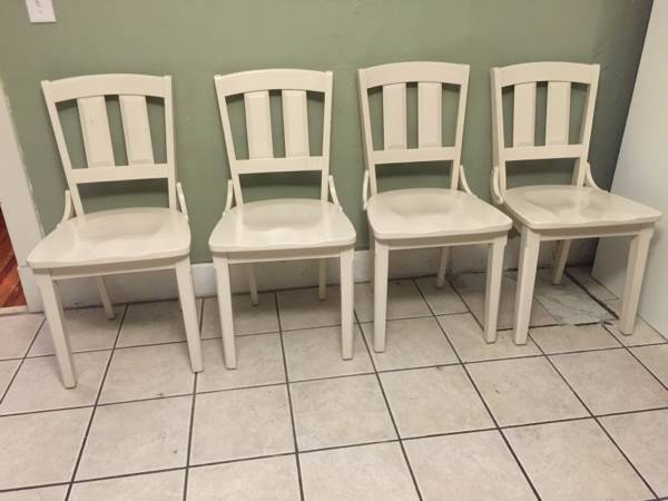 Set of 4 Kitchen Chairs     $159     View on Craigslist