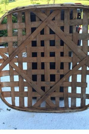 Antique Tobacco Basket     $45     View on Craigslist