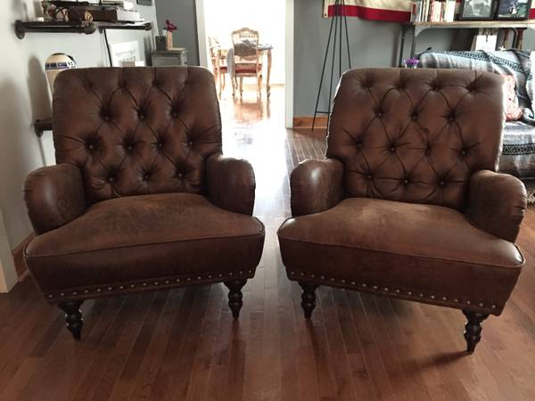 Pair of Leather Chairs     $800     View on Craigslist