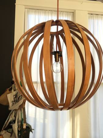 West Elm Pendant Light $125 View on Craigslist
