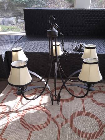 Five Light Chandelier $35 View on Craigslist