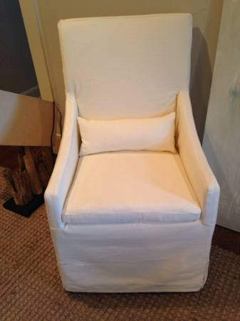 Pair of Restoration Hardware Chairs     $750     View on Craigslist
