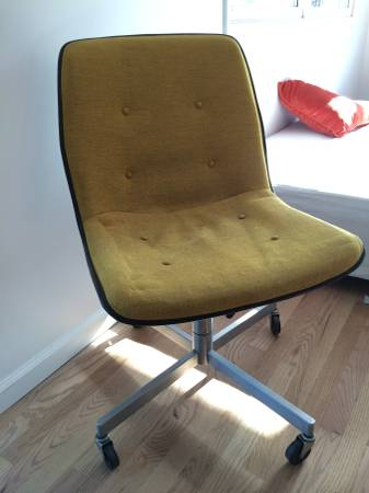 Mid Century Office Chair     $75     View on Craigslist