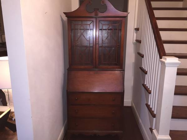 Antique Mahogany Secretary     $300     View on Craigslist