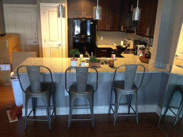 Set of 3 Restoration Hardware Stools     $300     View on Craigslist