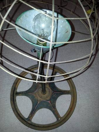 Vintage Industrial Light     $55     View on Craigslist