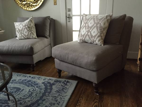 Pottery Barn Carlisle Chairs     $300 each     View on Craigslist