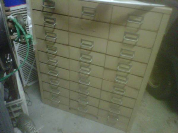 Steel Filing Cabinet     $40     View on Craigslist