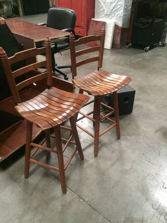 Wooden Barstools     $40     View on Craigslist