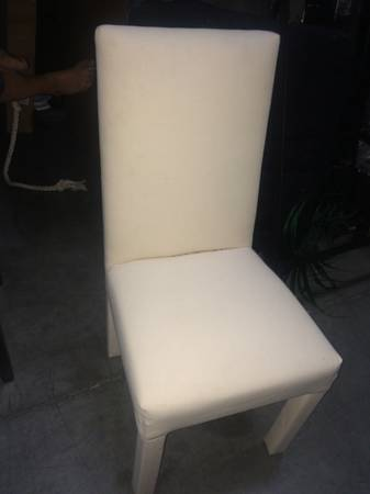 Pair of Parsons Chairs     $60     View on Craigslist